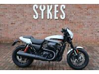 NEW 2020 Harley-Davidson XG750A Street Rod in Stone Washed White Pearl