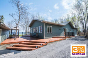 R27//Traverse Bay/Stunning lakefront bungalow ~ by 3% Realty