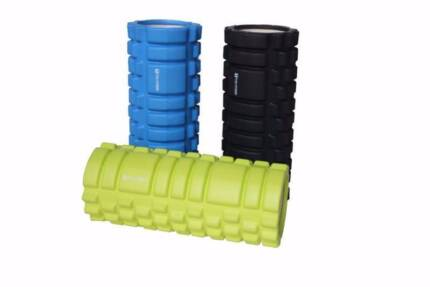 NEW HOLLOW FOAM ROLLERS - BLACK, BLUE OR GREEN