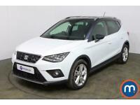2019 SEAT Arona 1.0 TSI 115 FR [EZ] 5dr DSG Auto Hatchback Petrol Automatic