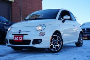 2013 Fiat 500 Sport, Bluetooth, Leather, Heated Seat