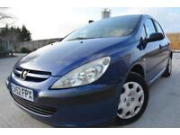 PEUGEOT 307 STYLE 2.0 HDI DIESEL 5 DOOR*ONE OWNER*FULL 12 MONTHS MOT*CHEAP*