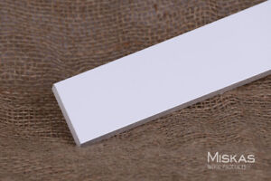 Straight-Edge Style (flat stock) - Trim and Moulding Manufacture