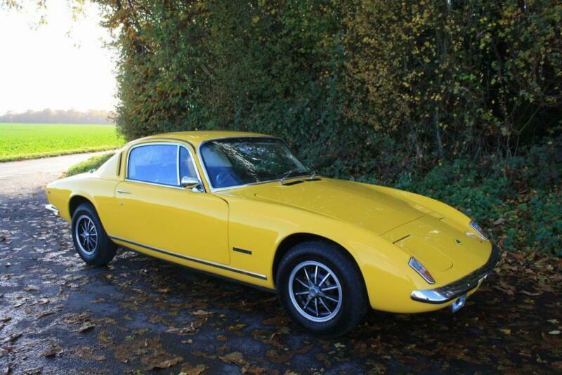Lotus Elan+2S130/4, 1973.Brilliant in its original colour, Lotus Yellow (LO7)