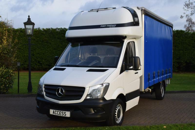 Mercedes Benz Dealership >> Mercedes Benz Sprinter Curtain-sider 316cdi Sleeper cab | in Pilgrims Hatch, Essex | Gumtree