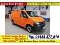 2012 - 62 - VOLKSWAGEN TRANSPORTER T32 2.0TDI 140PS SWB VAN (GUIDE PRICE)