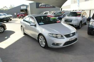 2010 Ford Falcon FG G6 Limited Edition Silver 5 Speed Automatic Sedan Mitchell Gungahlin Area Preview