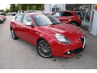 2017 Alfa Romeo Giulietta 2.0 JTDM-2 Super (s/s) 5dr Diesel red Manual