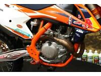 KTM SXF 450 FACTORY MOTOCROSS BIKE, AKRAPOVIC EXHAUST SYSTEM