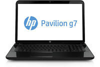 "//// PORTABLE HP PAVILION G SÉRIE 17.3"" 750GB i3 X 2.4GHz ////"
