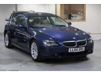2004 BMW 6 Series 4.4 645Ci 2dr