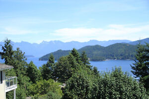 Panoramic Ocean View Lot Within Walking Distance to Gibsons
