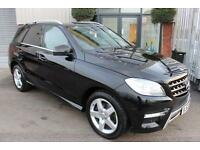 Mercedes ML250 BLUETEC AMG SPORT. VAT QUALIFYING