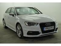 2013 Audi A3 TDI S LINE Diesel white Manual