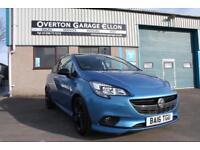 2016 Vauxhall Corsa LIMITED EDITION 1.4 ECOFLEX Petrol blue Manual