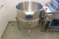 60-Gallon Stainless Steel Double-Jacketed Kettle/Vat