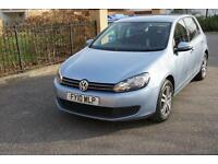 Volkswagen Golf 1.6TDI ( 105ps ) 2009MY SE Sky Blue Manual Bluetooth 90k Diesel