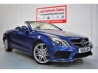 Mercedes-Benz E220 Convertible Auto Plus AMG Line - LOW RATE PCP £389 PER MONTH