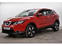 2015 Nissan Qashqai N-TEC DIG-T Petrol red Manual