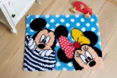 "Vervaco Knüpfteppichpackung "" Disney Mickey & Minnie "" PN-0167700"