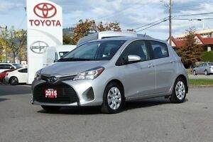 2015 Toyota Yaris LE  -Mint Condition,A/C,Touch Screen