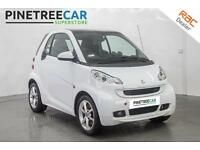 2011 SMART FORTWO 1.0 MHD Pulse Softouch 2dr Auto
