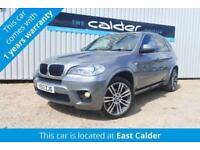 2013 13 BMW X5 3.0 X DRIVE 30D M SPORT 5D 7 SEAT AUTO 241 BHP DIESEL