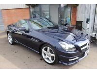 Mercedes SLK SLK200 BLUEEFFICIENCY AMG SPORT WITH AIRSCARF