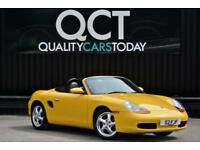 2001 Porsche Boxster 2.7 Tiptronic S Auto * Speed Yellow + Cherished Plate *