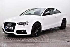 2015 Audi A5 TDI QUATTRO S LINE BLACK EDITION PLUS Diesel white Manual