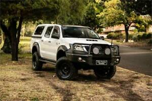 2012 TOYOTA HILUX SR (4x4) KUN26R MY12 DIESEL TURBO 3.0L 5 SP MANUAL Welshpool Canning Area Preview