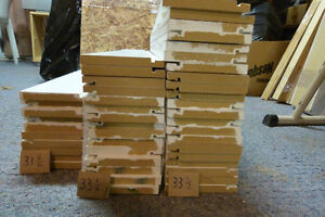Baseboard pieces .50 cents each or offer for bulk