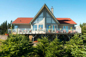 Ocean Front Property in Chance Harbour, New Brunswick