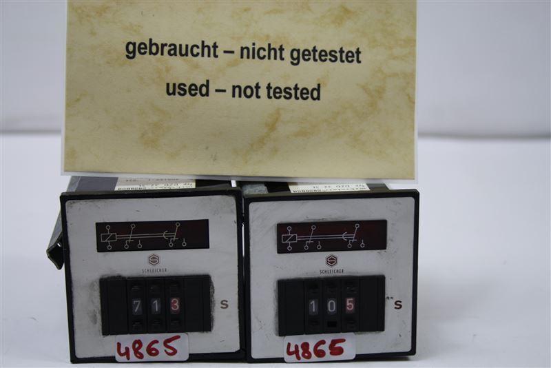 Schleicher Timer DZD32-SL 24vac 0.01-99.9 Seconds