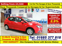 2013 - 13 - SEAT IBIZA SE CR 1.6TDI 5 DOOR HATCHBACK (GUIDE PRICE)