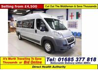 2011 - 61 - CITROEN RELAY 35 L3H2 2.2HDI 7 SEAT DISABLED ACCESS PTS MINIBUS