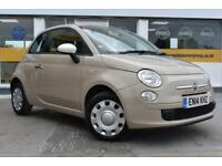 BAD CREDIT CAR FINANCE AVAILABLE 2014 14 FIAT 500 1.2 COLOUR THERAPY