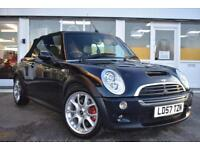 2007 57 MINI COOPER S JWC CONVERTIBLE GOOD AND BAD CREDIT CAR FINANCE AVAILABLE