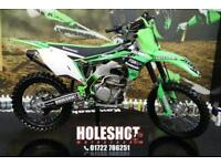 2017 KAWASAKI KXF 250 MOTOCROSS BIKE PRO CIRCUIT EXHAUST SYSTEM, NEW GRIPS