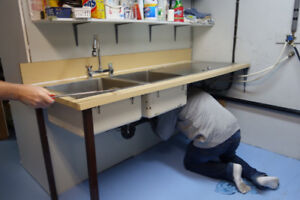 Commercial Sinks and Counter