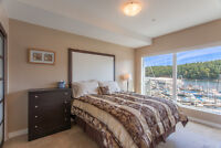 DT luxury waterfront residence, fully furnished 2 BR 2 baths