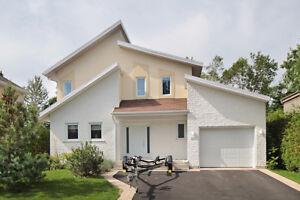 Maison à vendre / 3 chambres / Val-Bélair / Garage double