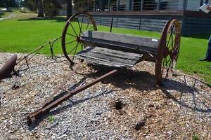 FEDERAL PERIOD SINGLE AXLE SEEDER BOX Wonga Park Manningham Area Preview