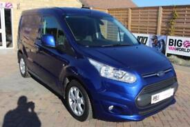 2017 FORD TRANSIT CONNECT 200 TDCI 125 L1 H1 LIMITED SWB LOW ROOF PANEL VAN DIES