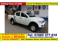 2012 - 12 - MITSUBISHI L200 2.5 D-4D 4X4 DOUBLE CAB PICK UP (GUIDE PRICE)