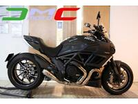 2012 Ducati Diavel Carbon Black 10,012 Miles 1 Owner Lots Of Extras