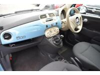 2013 Fiat 500 1.2 Pop (s/s) 3dr Petrol blue Manual