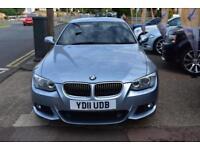 BAD CREDIT CAR FINANCE AVAILABLE 2011 11 BMW 325d M SPORT AUTO PRO NAV