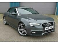 2013 Audi A5 S Line Special Edition 2.0 Convertible Diesel Manual