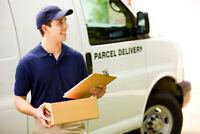 Xmas Parcel Delivery Drivers Nanaimo